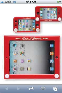 etch  and  sketch  iphone  cover