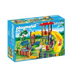 """Playmobil - Children's Playground - Playmobil - Toys""""R""""Us Play Mobile, Playmobil City, Playgrounds For Sale, Playground Set, Children Playground, Star Wars Shop, Toys Uk, Thing 1, Lego City"""