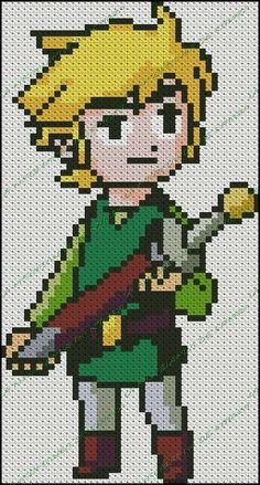 Link - Legend of Zelda pattern