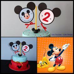 Bolo tema Mickey mouse