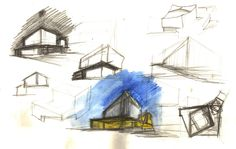 Chiasmus Partners was the of 3 short-listed entrees of the China Philharmonic Concert Hall competition in Beijing and was eventually chosen by the client as . Concert Hall, Watercolour, China, Sketches, People, Art, Art Background, Watercolor Painting, Watercolor