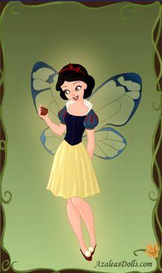 Fairy Snow White by PinkPetalEntrance on @DeviantArt
