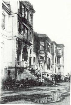 Incendio Hotel Taoro 1929 Puerto de la Cruz Tenerife