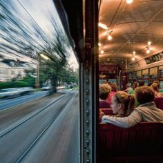 NEW ORLEANS STREETCAR. Places, National Geographic Photo Contest This is a streetcar in New Orleans traveling back towards The Quarter on St. I held the camera against the window. Great Photos, Cool Pictures, Funny Pictures, Moving Pictures, Amazing Photography, Art Photography, Fearless Photography, Action Photography, Landscape Photography