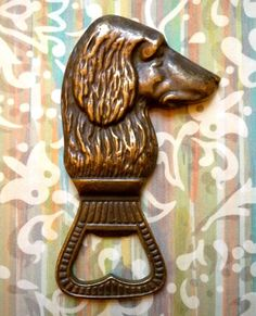 Elegant Irish Setter Bottle Opener