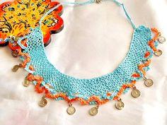 SALEGYPSY NECKLACE  bohemian style necklace ethnic by Nezihe1
