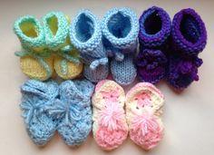 5 pairs from Ada W. (Rocky Mount, VA)