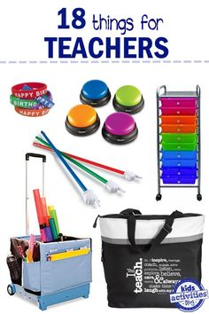 Things Every Teacher Needs - Kids Activities Blog
