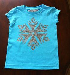 Disney's Elsa t-shirt DIY