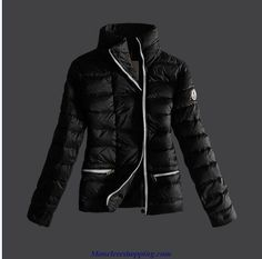 96a922114092 2013 New Moncler Women Long Down Jackets New Hot Black -   off discount  code  happywinter