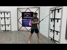 3 of the top tricep exercises with resistance bands: Kneeling Tricep Pull Down Cross Body Tricep Extension Tricep Kickback Resistance Band Training, Resistance Band Exercises, Triceps Workout, Sporty, Fitness, Tops, Youtube, Band