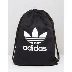adidas Originals Drawstring Backpack With Trefoil Logo And Shoulder... (36 CAD)…