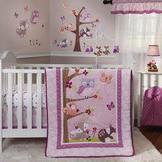 Lavender Woods 3-Piece Crib Bedding Set
