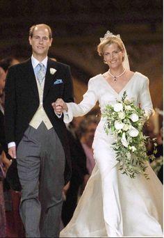 HRH Prince Edward, Earl of Wessex and Sophie Rhys-Jones June 19, 1999 St. George's Chapel, Windsor Castle