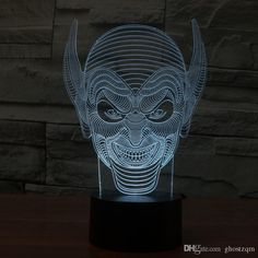 Monster 3D Acrylic Lamp LED Colorful Visual Touch Gradient Usb Nightlight Night Light For Children Table Lamp 3Dled Night Light Usb Light Lamp Lava Lamp Night Lamp Sensor Light Online with 19.68/Piece on Ghostzqm's Store   DHgate.com