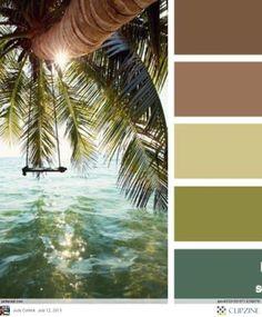 Color Palettes by Tara Rensen