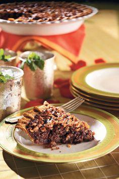 Pecan Pie Recipes: Chocolate-Bourbon Pecan Pie