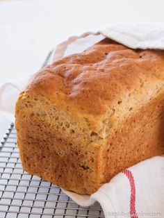 This Wonderful Gluten Free Sandwich Bread really does earn it's name. The bread is really simple to make, has a wonderful texture, and will get you eating sandwiches again in no time. Good Gluten Free Bread Recipe, Gf Bread Recipe, Gluten Free Cakes, Gluten Free Cooking, Gluten Free Recipes, Keto Recipes, Sugar Free Bread, Sugar Free Sweets, Glutenfree Bread