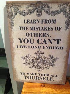 Lerne von den anderen
