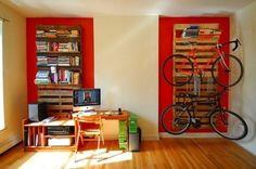 Wood Pallets: Decoration and Functionality   www.prakticideas.com