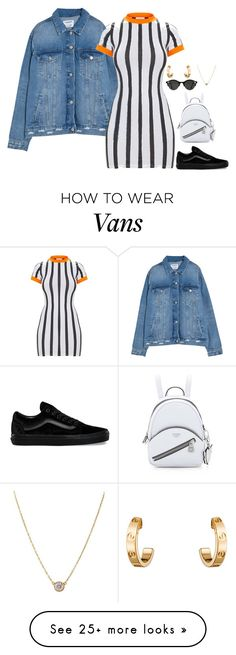 """""""Beetlejuice"""" by danielleaudrey on Polyvore featuring Vans, Cartier and Tiffany & Co."""