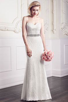 SPRING 2015 wedding gown by Mikaella Bridal -- NOW AVAILABLE