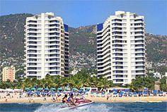 Hotel Playa Suites Acapulco, Acapulco, Guerrero - En medio de una de las Bahías mas hermosas del mundo sobre la Zona Dorada, en la playa del Morro, a una cuadra del la Diana Cazadora.