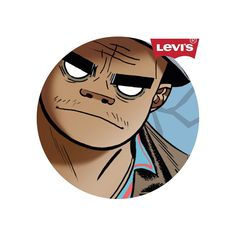 Gorillaz x Levi's Great Bands, Cool Bands, Jamie Hewlett Art, Monkeys Band, Russel Hobbs, Image Manga, Chant, Tank Girl, Musica
