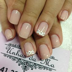 Wedding Manicure, Manicure And Pedicure, Nail Salon Design, Nails Now, Nail Art Designs Videos, Simple Nail Designs, Flower Nails, Trendy Nails, Spring Nails