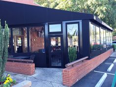Dilworth Neighborhood Grill Patio Enclosure Charlotte, NC