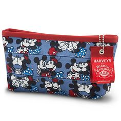 Classic Minnie and Mickey Mouse Makeup Case by Harveys