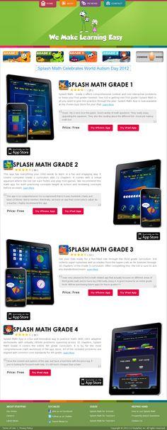 StudyPadInc.com - Best Math Apps for 1st grade, 2nd Grade, 3rd Grade 4th Grade