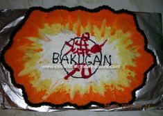 Homemade Bakugan Birthday Cake: My son Jaxon wanted a Bakugan party for his 6th birthday. After tossing around a few ideas this Bakugan Birthday Cake was what I came up with. I used