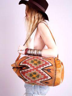 #bag #hat #aztec