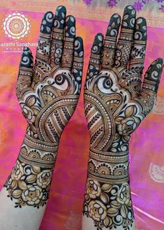 Bridal Henna Mehndi Mehandi Designs 44 Ideas For 2019 Peacock Mehndi Designs, Latest Bridal Mehndi Designs, Full Hand Mehndi Designs, Henna Art Designs, Mehndi Designs 2018, Wedding Mehndi Designs, Dulhan Mehndi Designs, Henna Mehndi, Mehendi