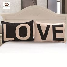 Promoção amor juntos fronha presentes de ano novo capas decorativas 20 polegada x 30 polegada corpo fronha da cama casa dos namorados presente(China (Mainland))