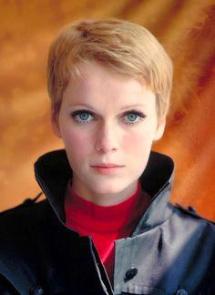 In 1967 Vidal Sassoon was filmed cutting Mia Farrow's luscious long locks into a cropped pixie cut for Roman Polanski's new movie, Rosemary'...