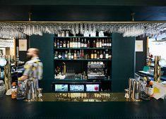 Positano Yes Restaurant, NK, Stockholm by Monica Förster Design Studio Positano Restaurant, Nordic Design, Restaurant Design, Warm Colors, Stockholm, Photo Wall, Studio, Photograph, Warm Paint Colors