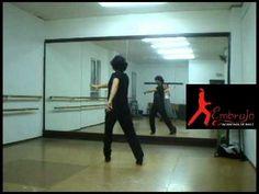 Clases de flamenco. patada por tango
