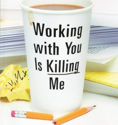 The NOOK Book (eBook) of the Working with You Is Killing Me: Freeing Yourself from Emotional Traps at Work by Katherine Crowley, Kathi Elster Good Boss, Hate My Job, Work Humor, Office Humor, Mean Girls, Learning, Words, Crowley, Kindle