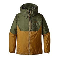 La veste Patagonia Men's Alpine Houdini Jacket offre une protection d'urgence quand vitesse et légèreté sont les maîtres mots en montagne.
