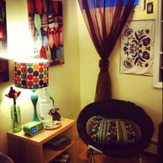 My cozy corner   #home #apartment #boho #gypsy #decor #cozy #color boho gypsy, cozy corner, gypsies decorations, gypsy decor, cozi corner