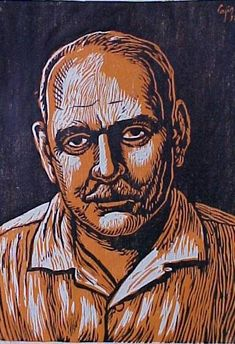 """""""Luis Muñoz Marín"""" de Luis Germán Cajiga, Puerto Rican artist."""