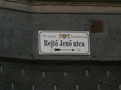 Rejtő Jenő utca Utca, Authors, Writers