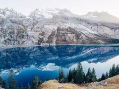 an-adventurers:  Lake Oeschinen, Switzerland