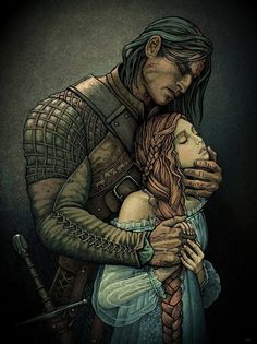 Sansa and Sandor /the hound/