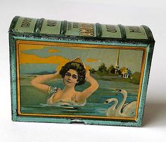 1910s-Imperial-RUSSIA-LADY-Travel-Soap-Perfume-Tin-Box
