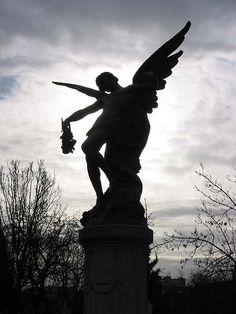 Statue at Pere Lachaise Cemetery, Paris
