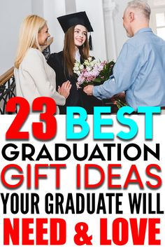 Looking for the best graduation gifts to give? Here are 23 graduation gift ideas that the graduate will need and love!