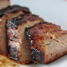 Honey Butter Pork Tenderloin -- looks wonderful! Honey Butter Pork Tenderloin -- looks wonderful! Honey Butter Pork Tenderloin -- looks wonderful! Think Food, I Love Food, Good Food, Yummy Food, Pork Recipes, Cooking Recipes, Family Recipes, Cooking Games, Meat Recipes